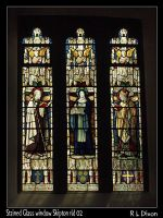Stained Glass window Skipton rld 02 dasm by richardldixon