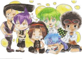Shaman king chibis-contest by MiharuandHara