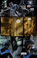 Nightwing: Fundamentals pg. 1 by RayDillon