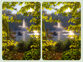 Seasonal Coloring 3D ::: DRi CrossView Stereoscopy by zour