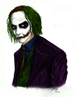 another Joker -coloured- by FallenDevilYamiko