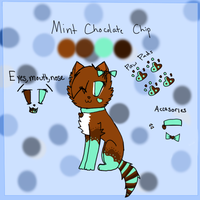 Mint Chocolate Chip Ref Sheet by BlossomTehKat