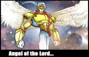 Angel of the Lord II by duribubu