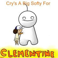 Cry and Clementine by SketchAttack