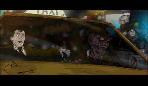 Ghostbusters - The Cab Ride by T-RexJones