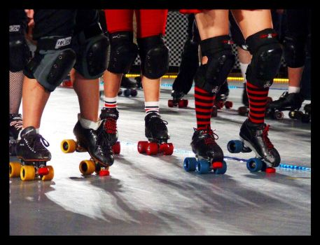 houston roller derby 80.1 by JamesDManley