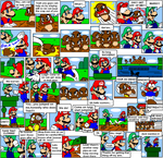 super mario bros page 11 by Nintendrawer
