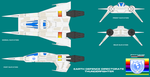 Buck Rogers in the 25th Century Thunderfighter by ArthurTwosheds