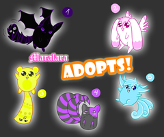 Adoptables 2 -Open- by Maralara