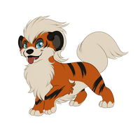 Gift Pokemon - Growlithe for Dusty by Tigryph