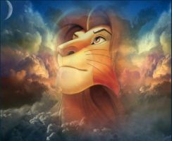Mufasa,, Lion of the Lion King by xKaoriix