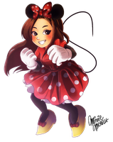 Minnie Michelle by mewDoubled