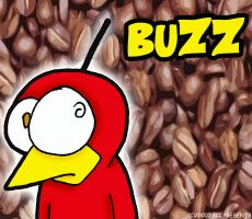 Buzz Loves Coffee by chelano