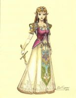 Princess Zelda... by Artsy50