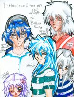 Bakura's Family by alaer