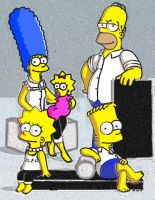 The Simpsons!! by julietaroad13