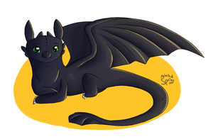 Toothless by cyluia