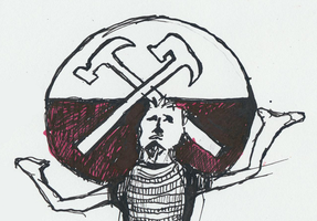 Roger Waters Sketch by karrimu