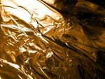 Crumpled Gold Foil by ImageAbstraction