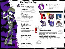 Starling Sterling Profile by GrandLove09