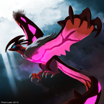 The Wings of Oblivion - Yveltal by Galahawk
