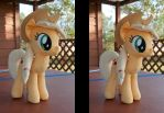 Stereo 3D Applejack Plush by adamlhumphreys