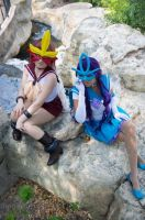 Sailor Entei and Suicune by YachiruFoxTailFairy