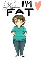 Yes i'm fat by korangi