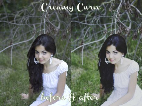 Freebie: Creamy Curve by sarahmessina