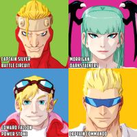 even more CAPCOM heads by theCHAMBA