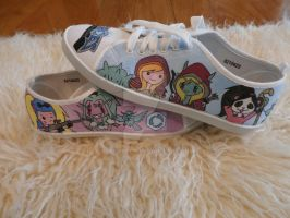 Heroes of the Storm handmade shoes 2 by Bou-McFly