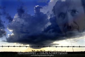 Barbed Wire in a Storm by Colin-LOCP