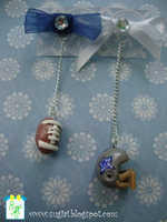 Cowboys Earrings by SugiAi