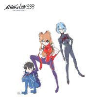 [Fan Art] Evangelion Q You can (not) redo 3.33 by SteveAhn