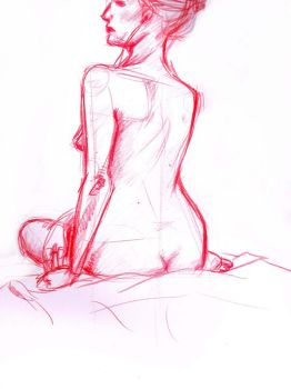 Life Drawing April 2012 by Lyssasoulless