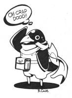 Inked Hero Prinny Dood by rongs1234