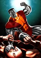 Colossus v Juggernaut: Payback by Robert-Shane