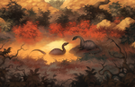 Tiny Dinosaurs by MoaWallin