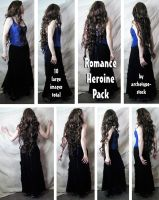 Romance Heroine Pack by archetype-stock
