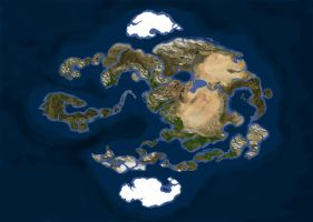 Realistic Avatar World Map by Gyorg1000