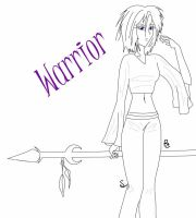 Warrior Spear by nukdae