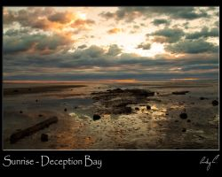 Sunrise - Deception Bay by 2Stupid2Duck