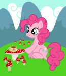 Pinkie Pie and her cuppa by Starlite-Synth