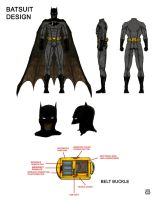 Batsuit Design by WizardOfAuz