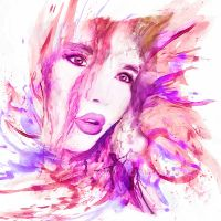 teresa in watercolor by photoplace