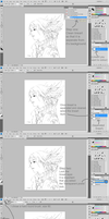 Colouring Lineart Tutorial by TokiiDokiiGirl