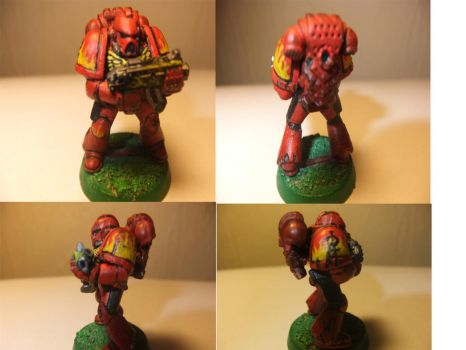 Fire Hawk Space Marine by Adeptussolus