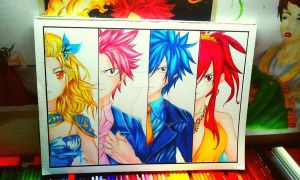 Fairytail Wizards by cheilo17
