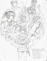 83TA pile-up Cover Sketch by Unodu