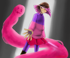 .::Bete-Noire - Glitchtale::. by TheShad0wF0x